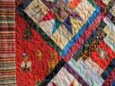Teddy Bear Quilt Closeup