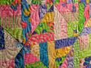 Butterfly Fling Strip Twist Quilting Detail